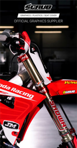 Mx Large Jm Racing Honda 300X600